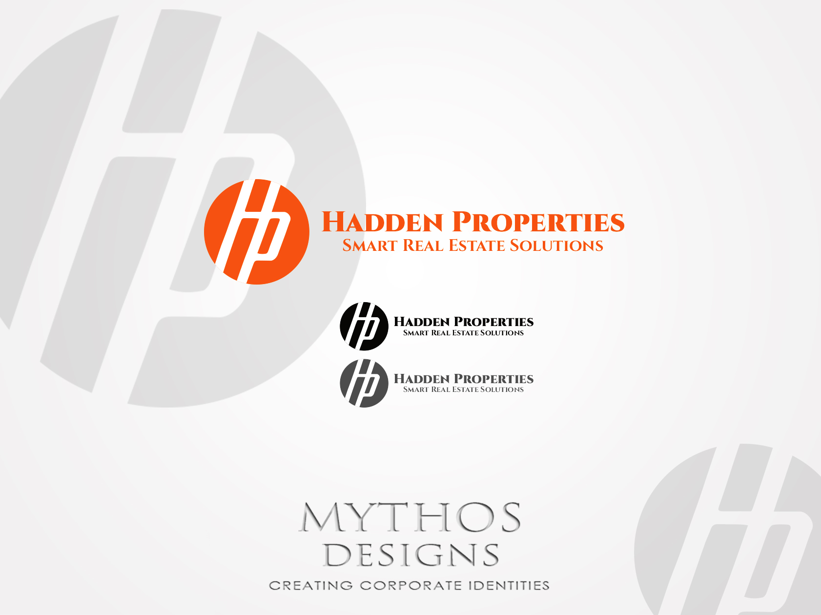 Logo Design by Mythos Designs - Entry No. 72 in the Logo Design Contest Artistic Logo Design for Hadden Properties.