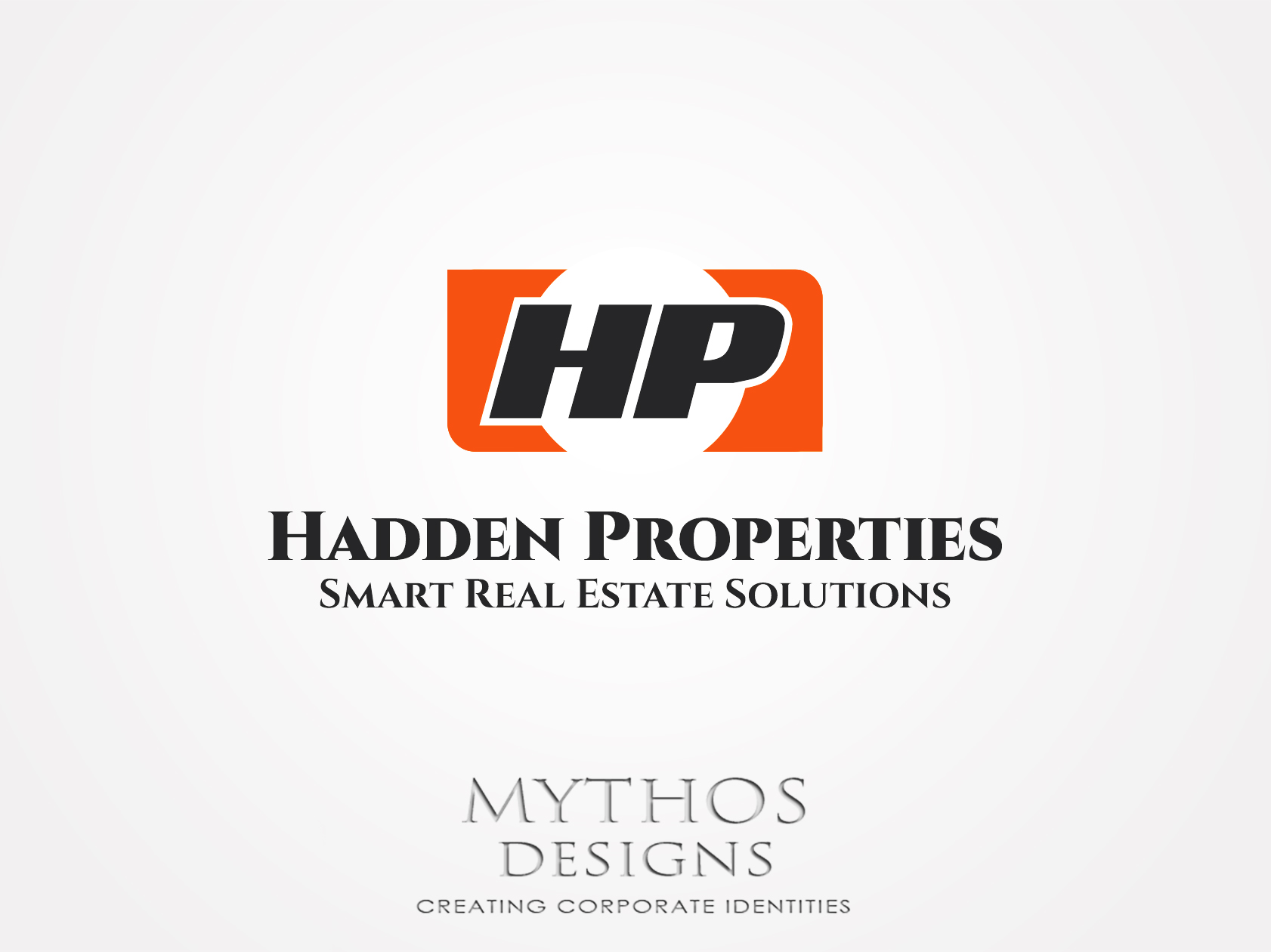 Logo Design by Mythos Designs - Entry No. 76 in the Logo Design Contest Artistic Logo Design for Hadden Properties.