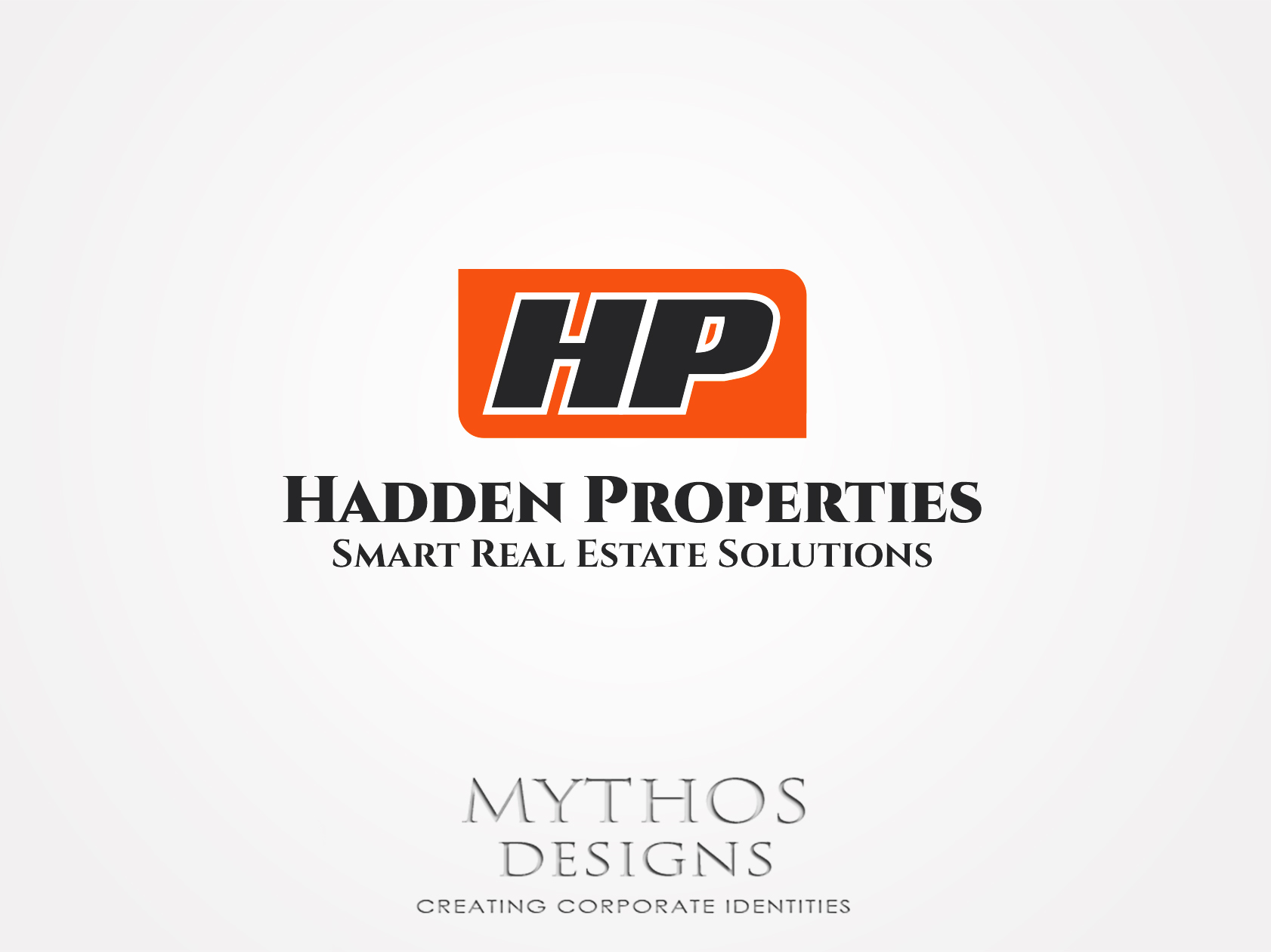 Logo Design by Mythos Designs - Entry No. 78 in the Logo Design Contest Artistic Logo Design for Hadden Properties.