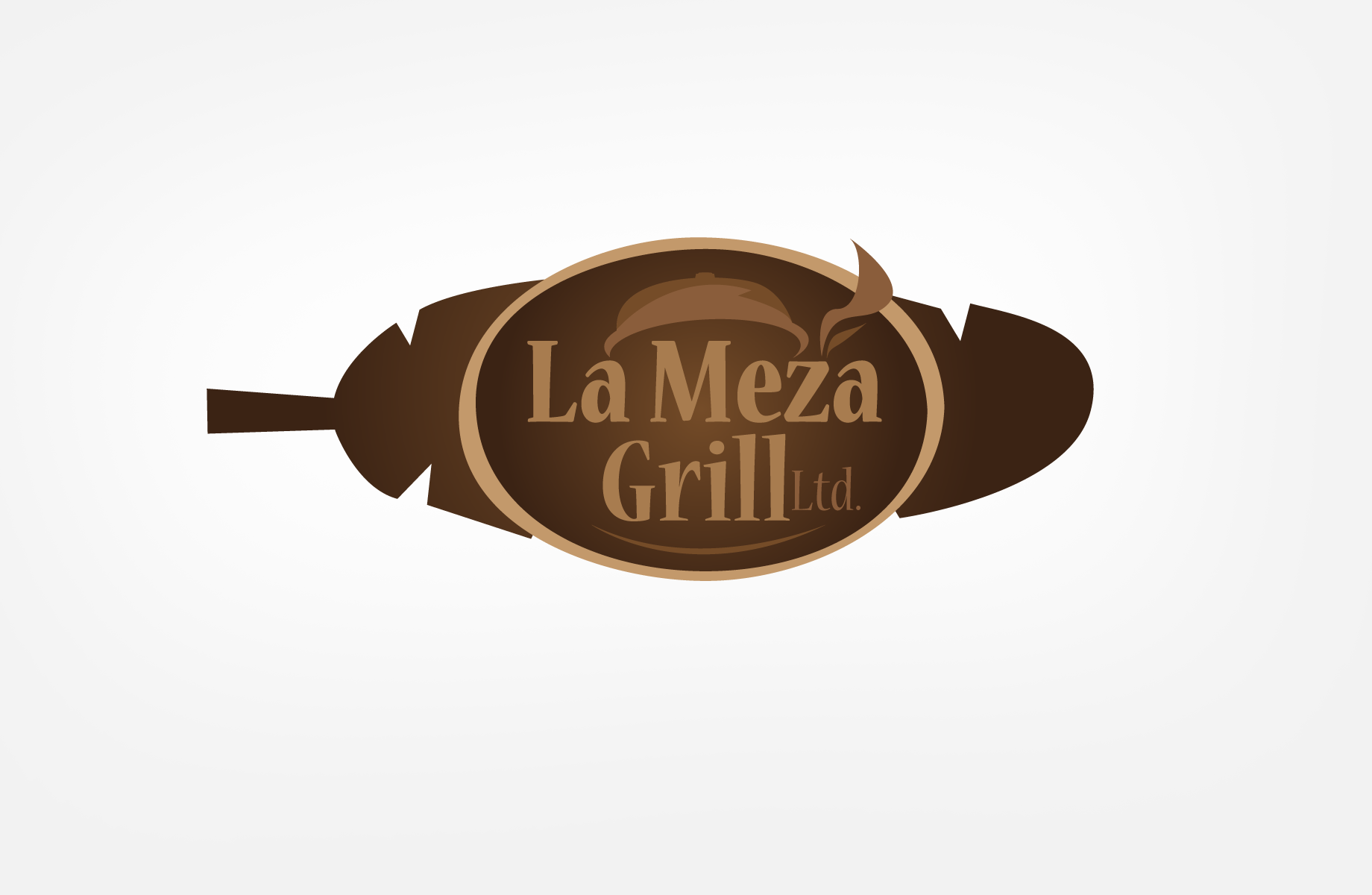 Logo Design by Jan Chua - Entry No. 40 in the Logo Design Contest Inspiring Logo Design for La Meza Grill Ltd..
