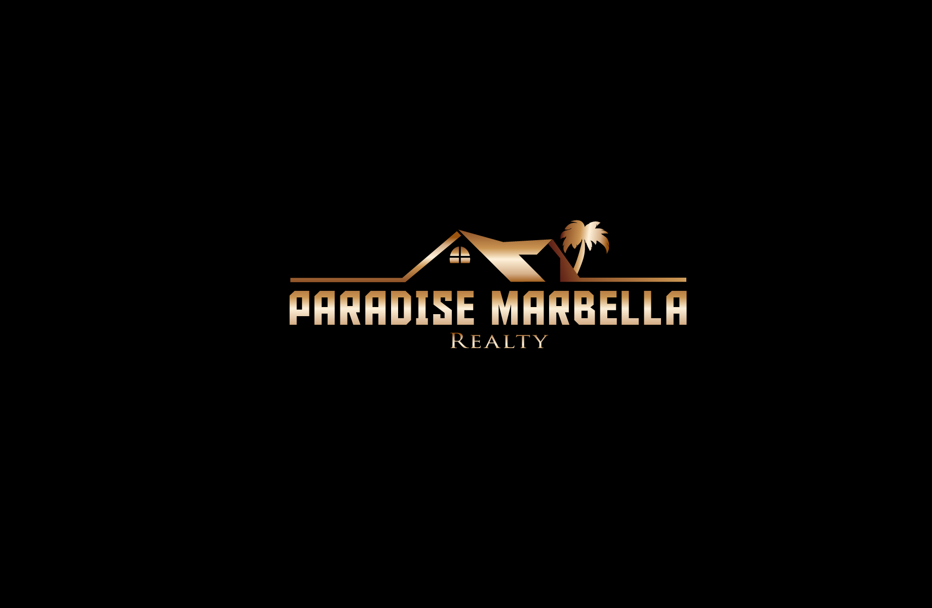 Logo Design by Jan Chua - Entry No. 89 in the Logo Design Contest Captivating Logo Design for Paradise Marbella Realty.
