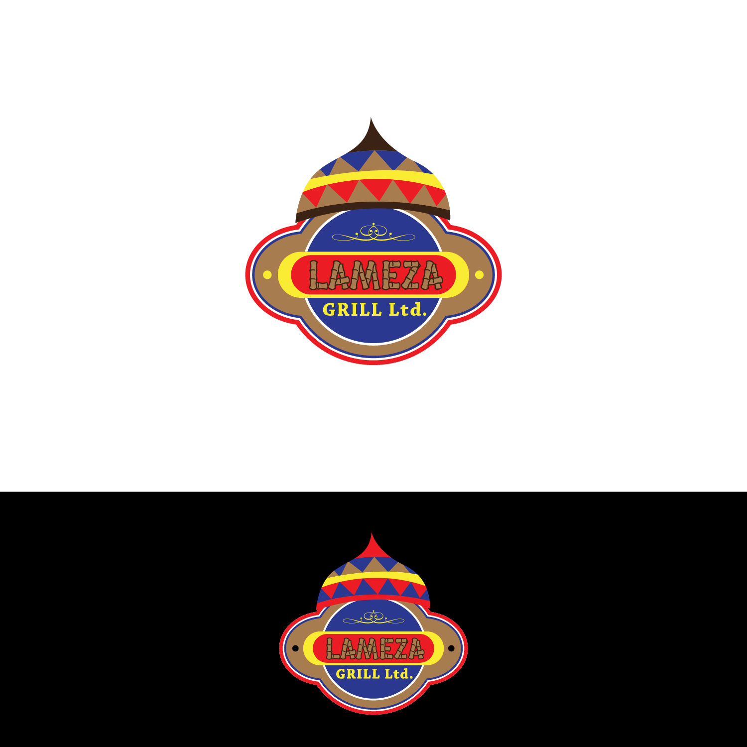 Logo Design by lagalag - Entry No. 41 in the Logo Design Contest Inspiring Logo Design for La Meza Grill Ltd..