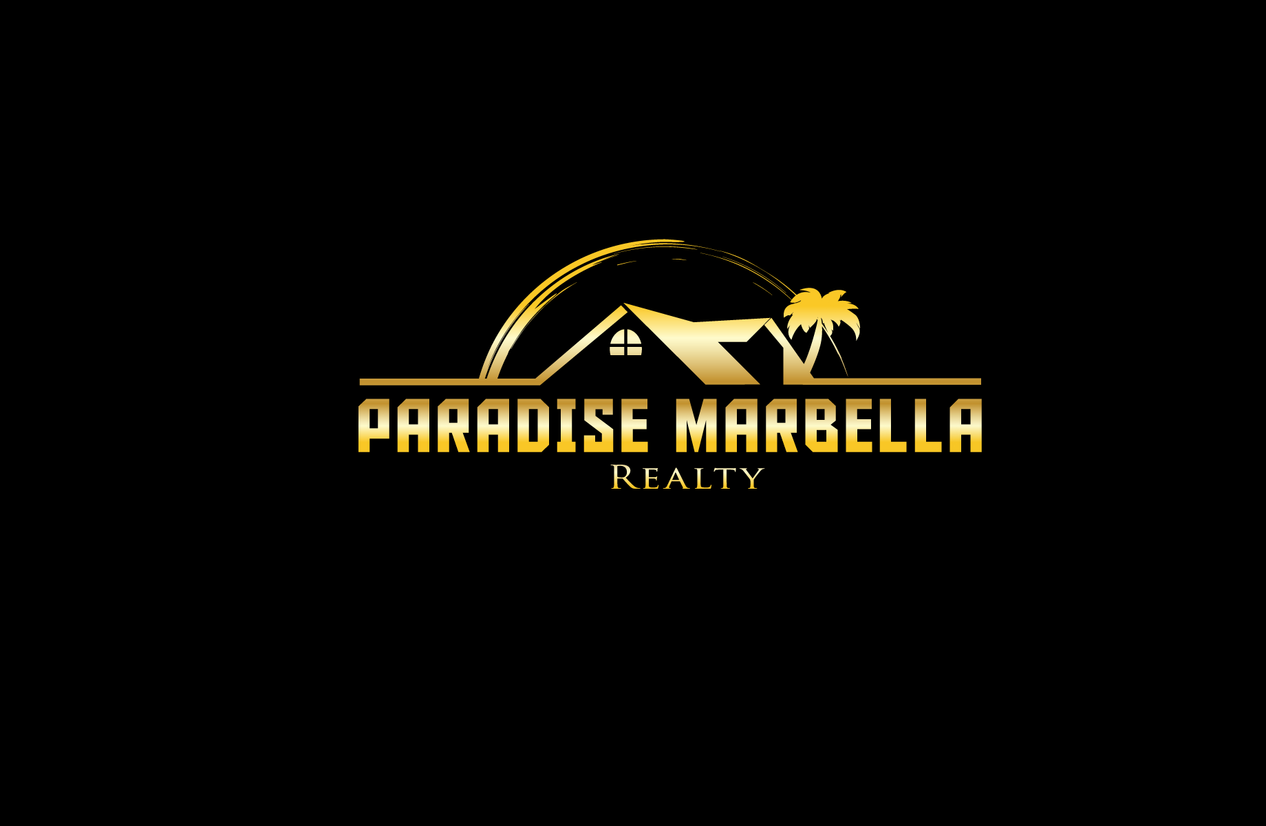 Logo Design by Jan Chua - Entry No. 90 in the Logo Design Contest Captivating Logo Design for Paradise Marbella Realty.