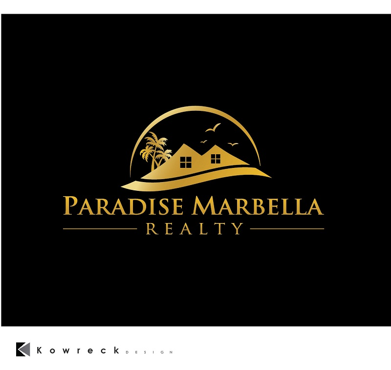 Logo Design by kowreck - Entry No. 91 in the Logo Design Contest Captivating Logo Design for Paradise Marbella Realty.