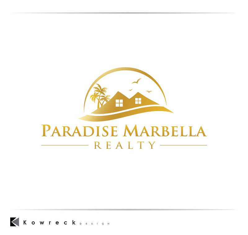 Logo Design by kowreck - Entry No. 92 in the Logo Design Contest Captivating Logo Design for Paradise Marbella Realty.