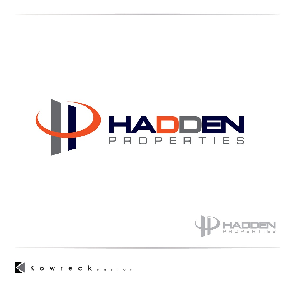 Logo Design by kowreck - Entry No. 84 in the Logo Design Contest Artistic Logo Design for Hadden Properties.