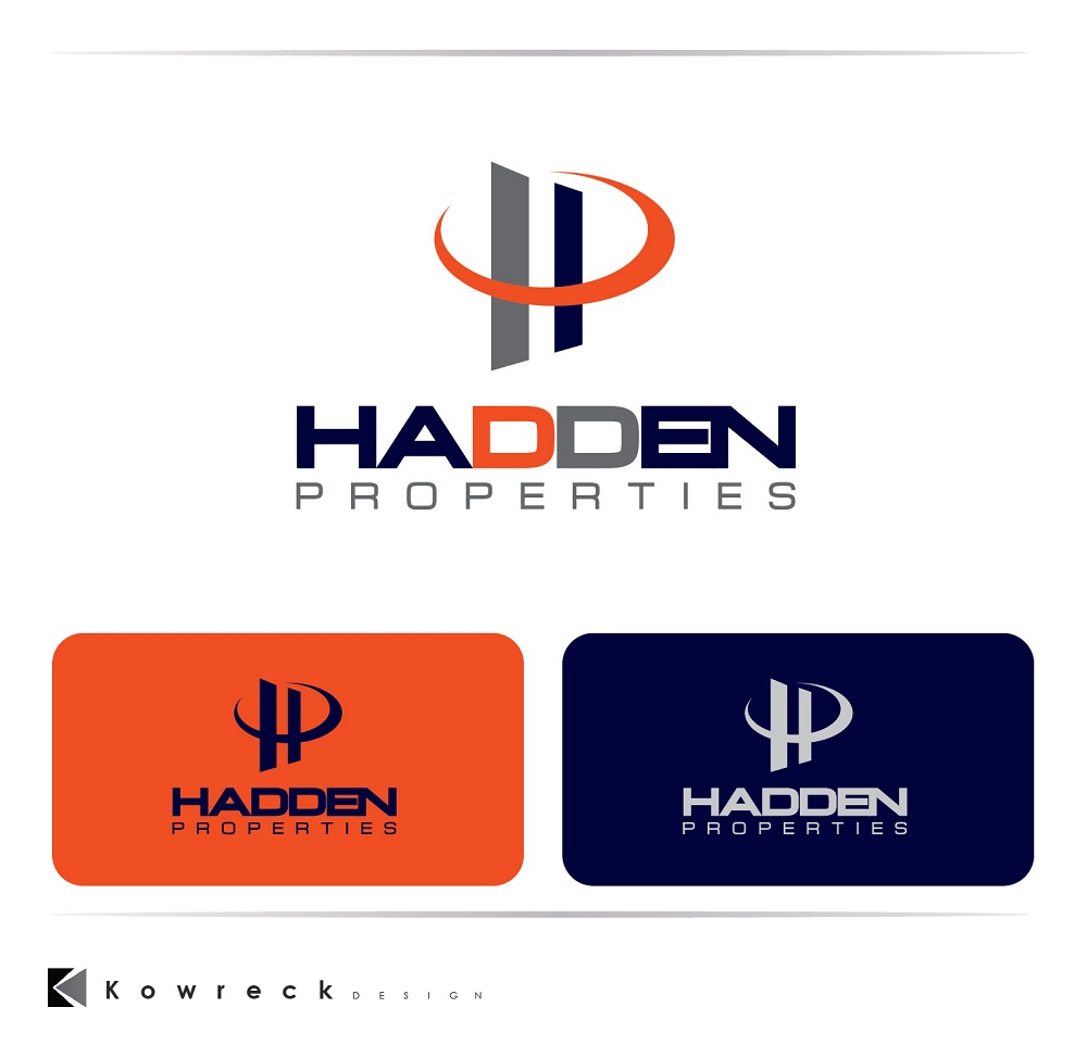 Logo Design by kowreck - Entry No. 85 in the Logo Design Contest Artistic Logo Design for Hadden Properties.