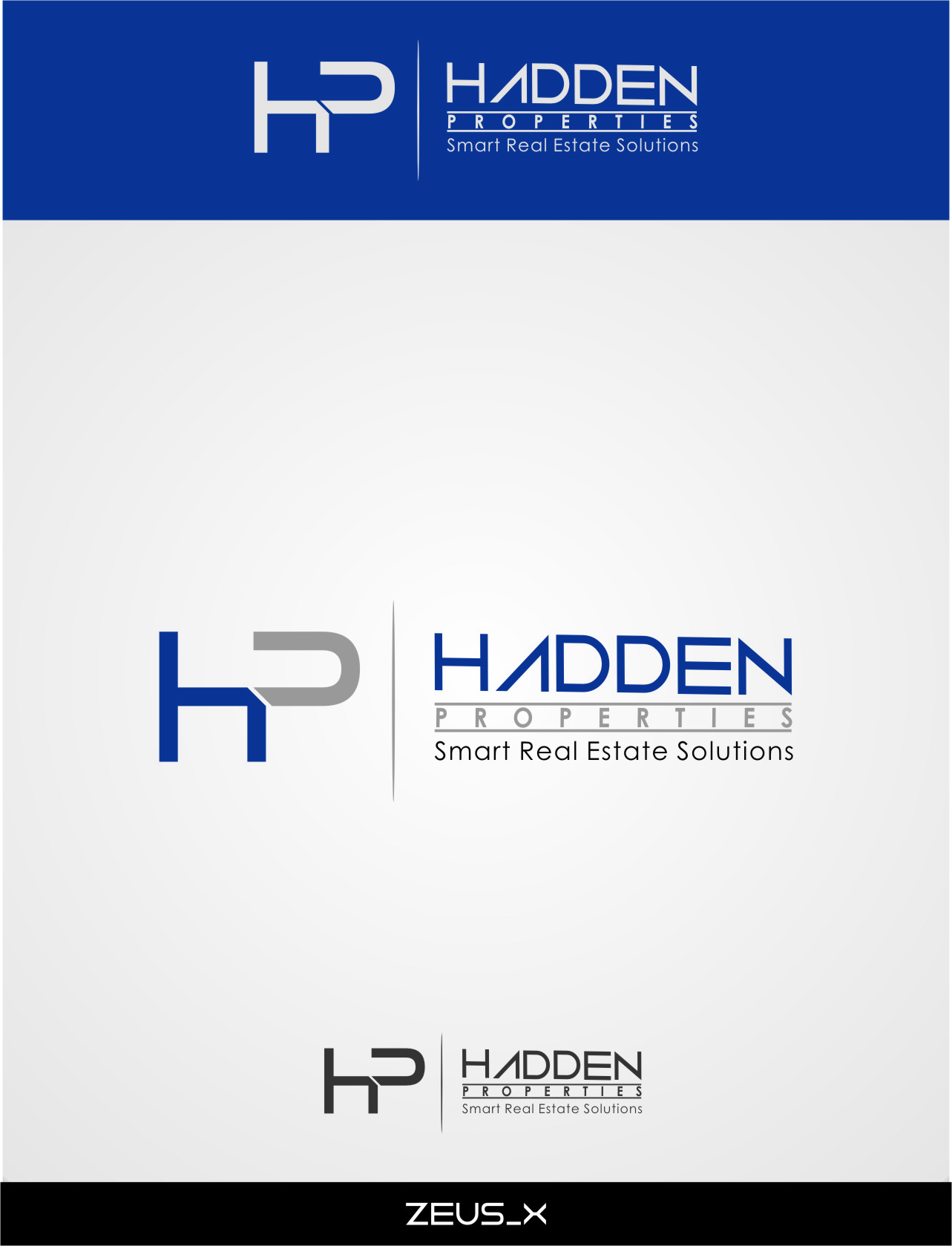 Logo Design by Ngepet_art - Entry No. 86 in the Logo Design Contest Artistic Logo Design for Hadden Properties.
