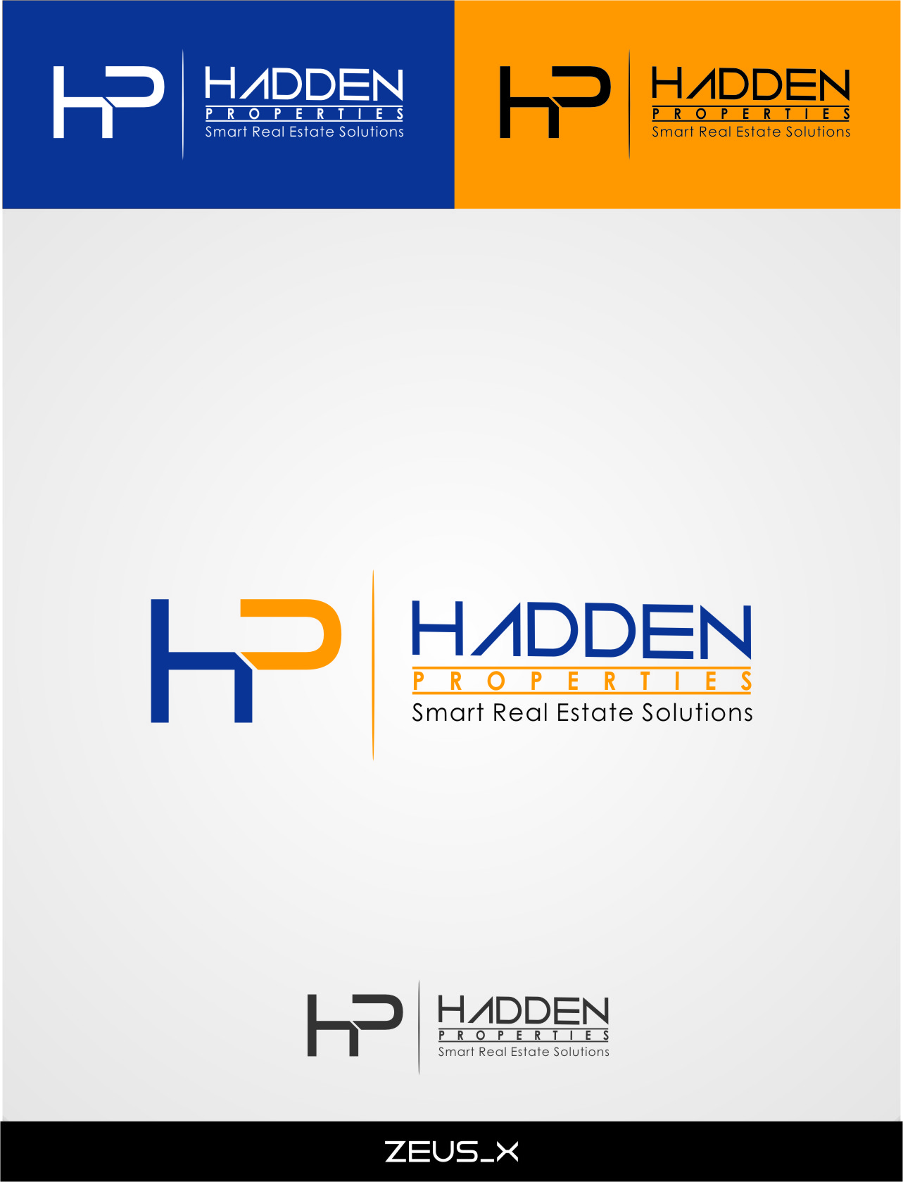 Logo Design by RasYa Muhammad Athaya - Entry No. 87 in the Logo Design Contest Artistic Logo Design for Hadden Properties.
