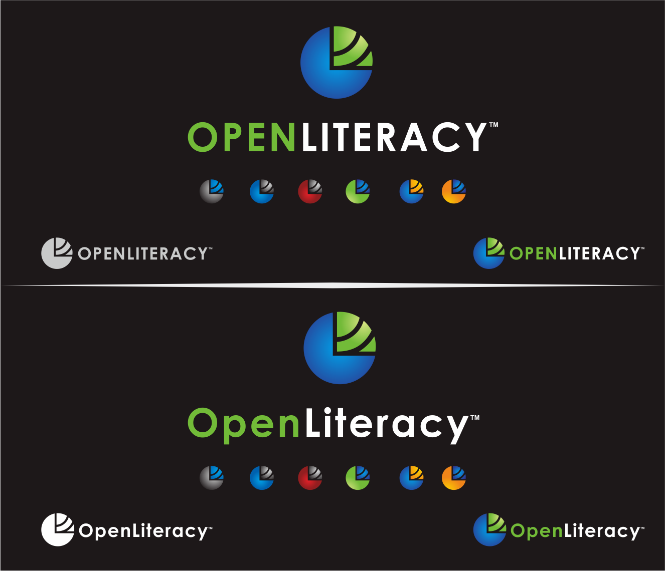 Logo Design by Armada Jamaluddin - Entry No. 104 in the Logo Design Contest Inspiring Logo Design for OpenLiteracy.