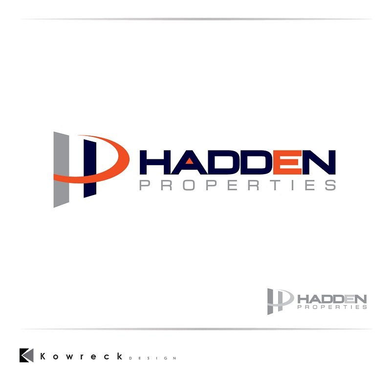 Logo Design by kowreck - Entry No. 89 in the Logo Design Contest Artistic Logo Design for Hadden Properties.
