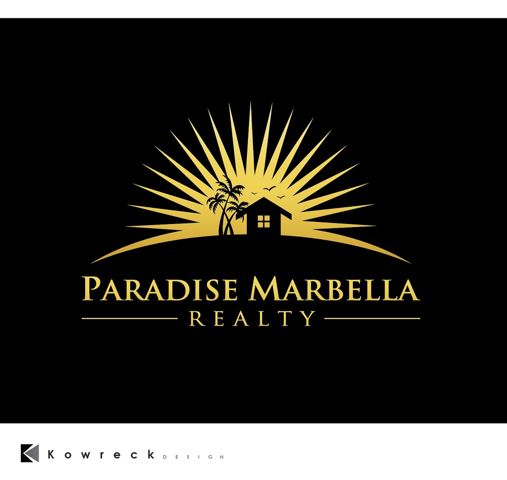 Logo Design by kowreck - Entry No. 98 in the Logo Design Contest Captivating Logo Design for Paradise Marbella Realty.