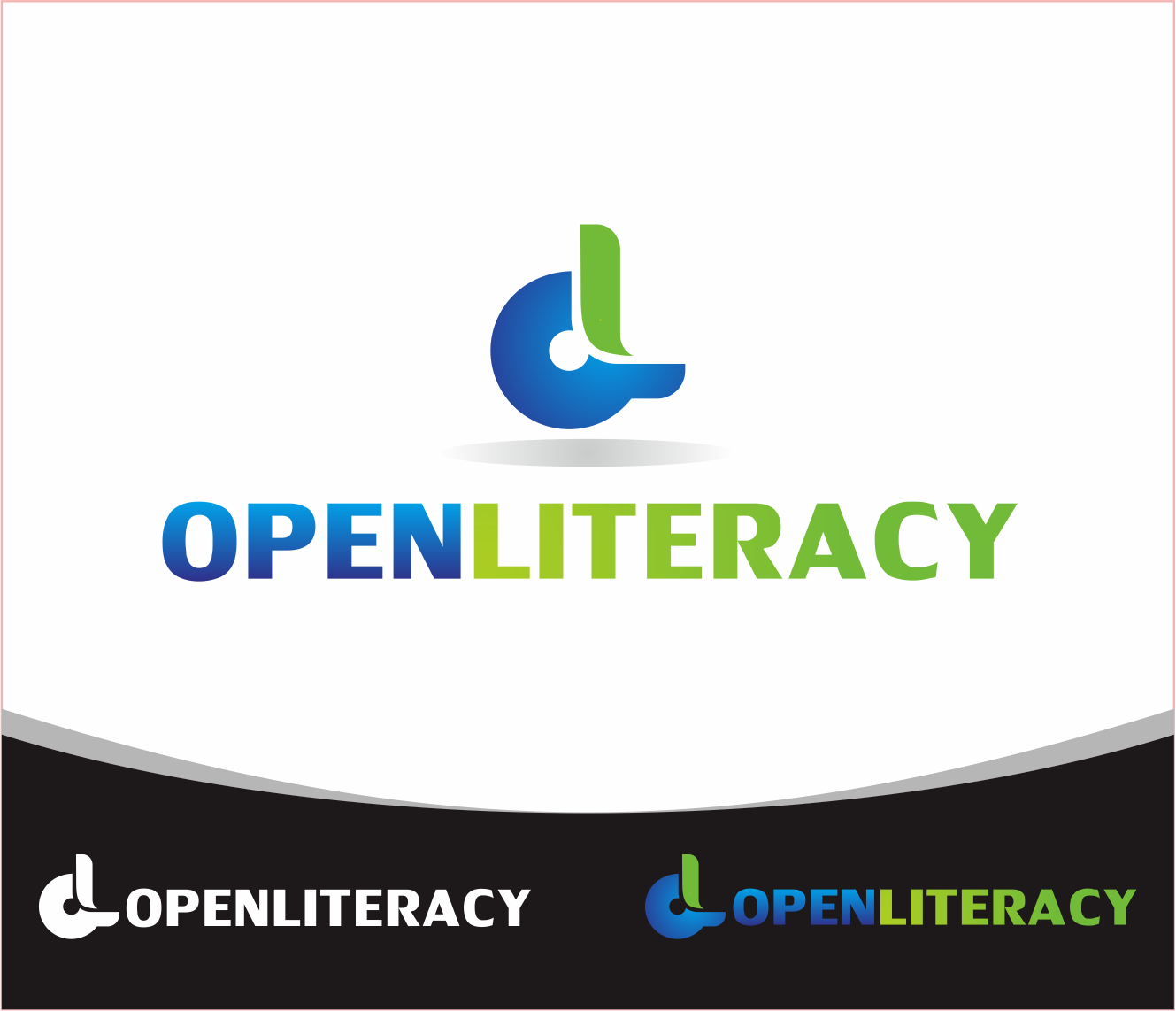 Logo Design by Armada Jamaluddin - Entry No. 105 in the Logo Design Contest Inspiring Logo Design for OpenLiteracy.