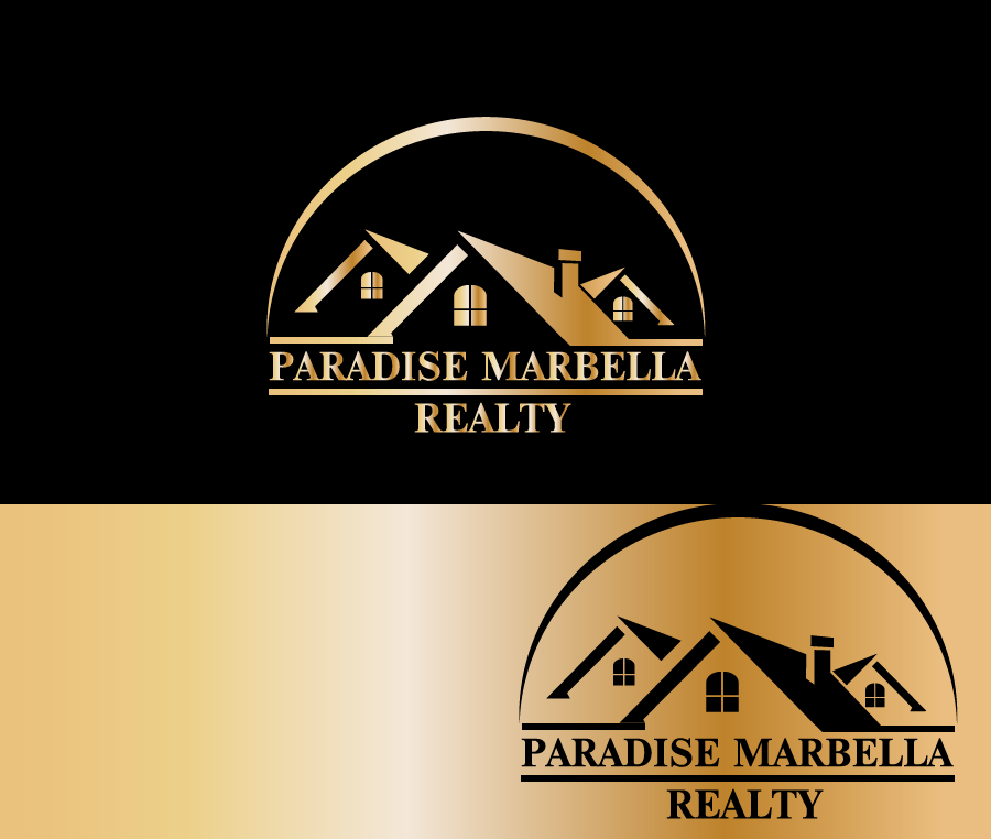 Logo Design by Private User - Entry No. 100 in the Logo Design Contest Captivating Logo Design for Paradise Marbella Realty.