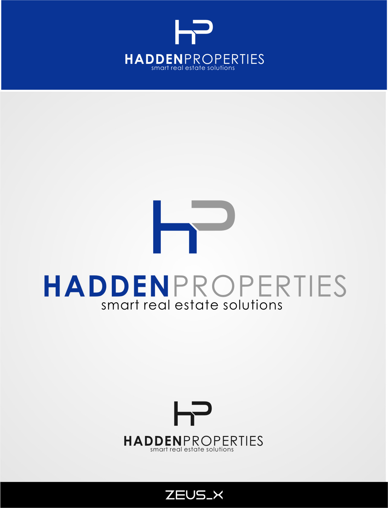 Logo Design by RasYa Muhammad Athaya - Entry No. 90 in the Logo Design Contest Artistic Logo Design for Hadden Properties.