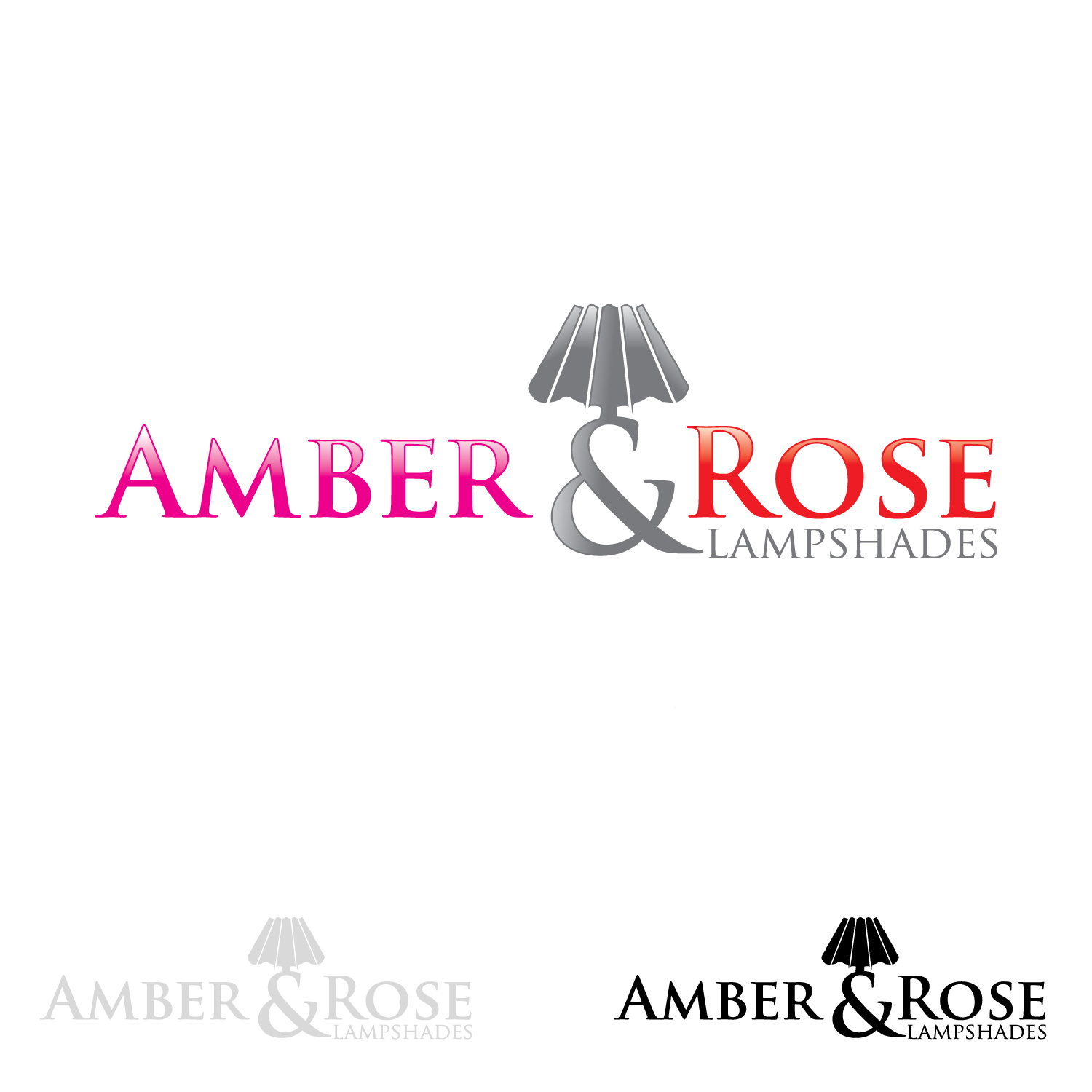 Logo Design by lagalag - Entry No. 14 in the Logo Design Contest Creative Logo Design for Amber & Rose.