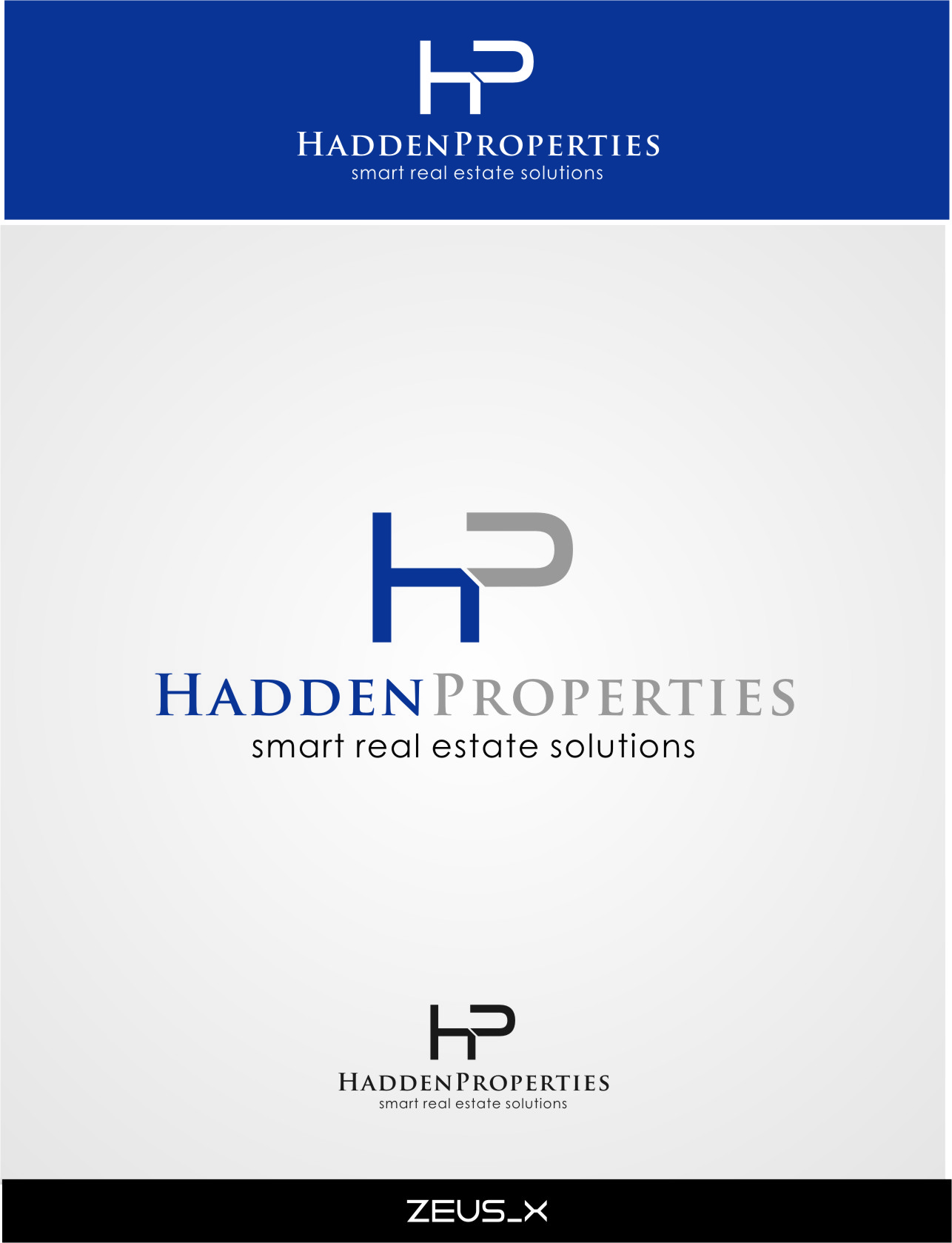 Logo Design by Ngepet_art - Entry No. 91 in the Logo Design Contest Artistic Logo Design for Hadden Properties.