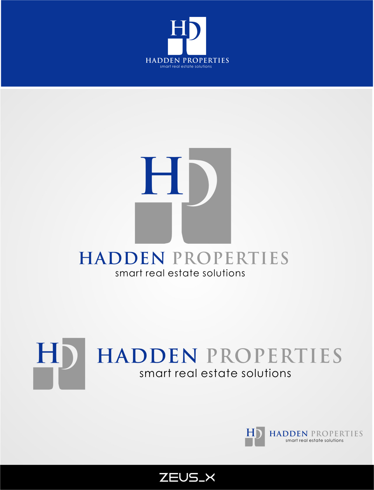 Logo Design by Ngepet_art - Entry No. 92 in the Logo Design Contest Artistic Logo Design for Hadden Properties.