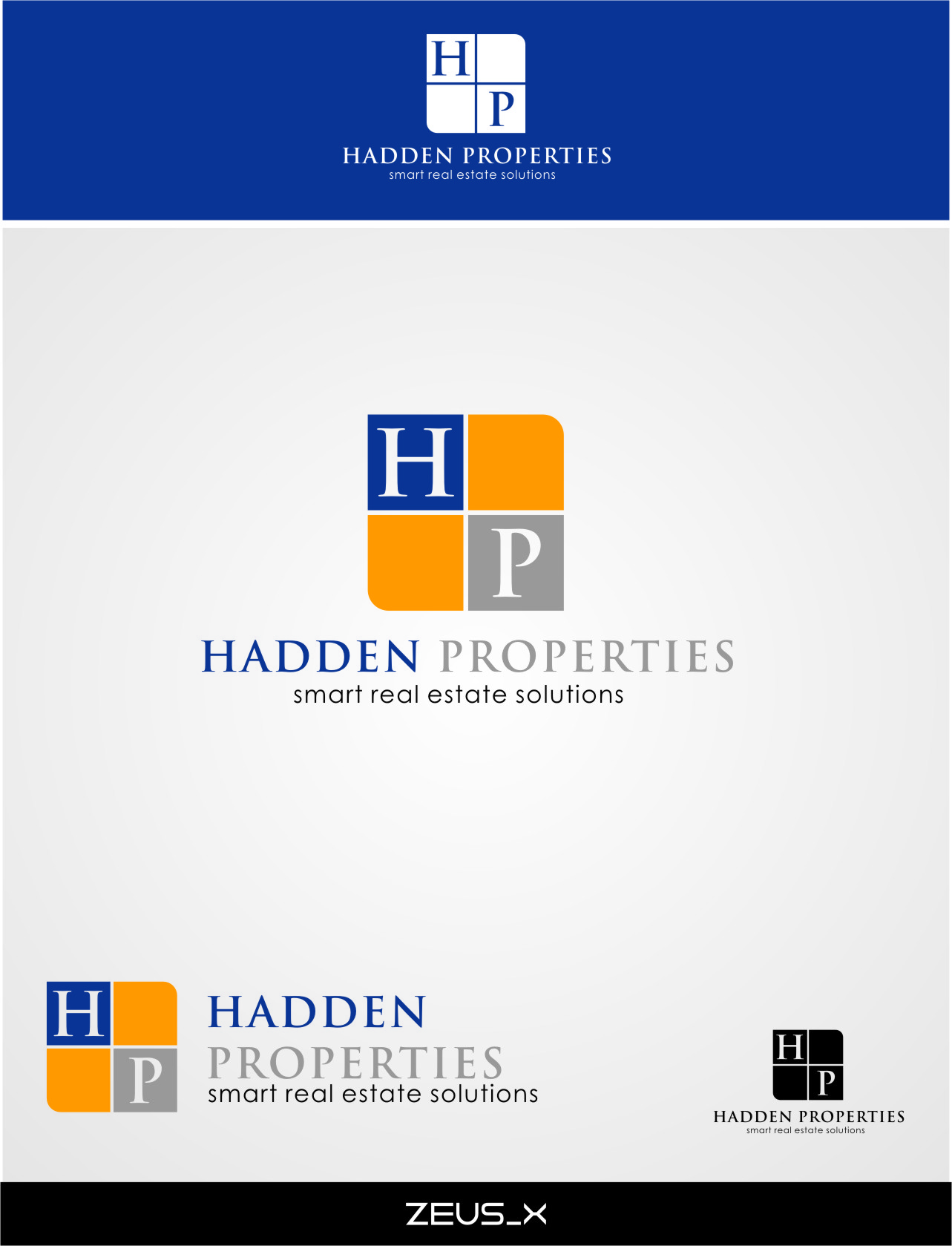 Logo Design by Ngepet_art - Entry No. 93 in the Logo Design Contest Artistic Logo Design for Hadden Properties.