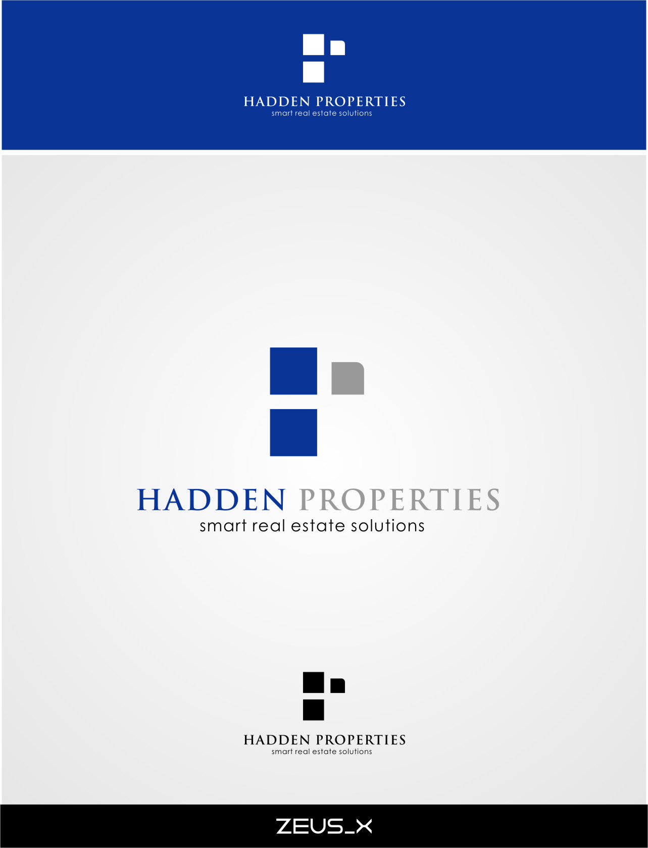 Logo Design by Ngepet_art - Entry No. 96 in the Logo Design Contest Artistic Logo Design for Hadden Properties.