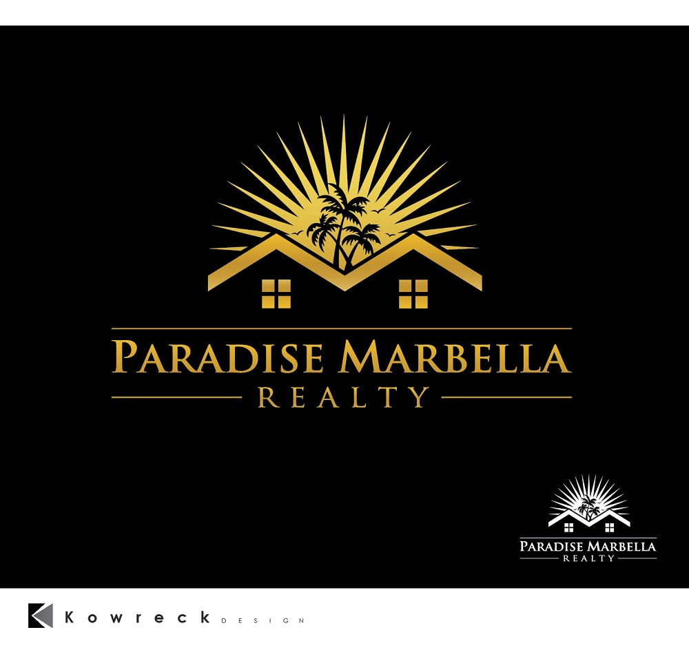 Logo Design by kowreck - Entry No. 104 in the Logo Design Contest Captivating Logo Design for Paradise Marbella Realty.