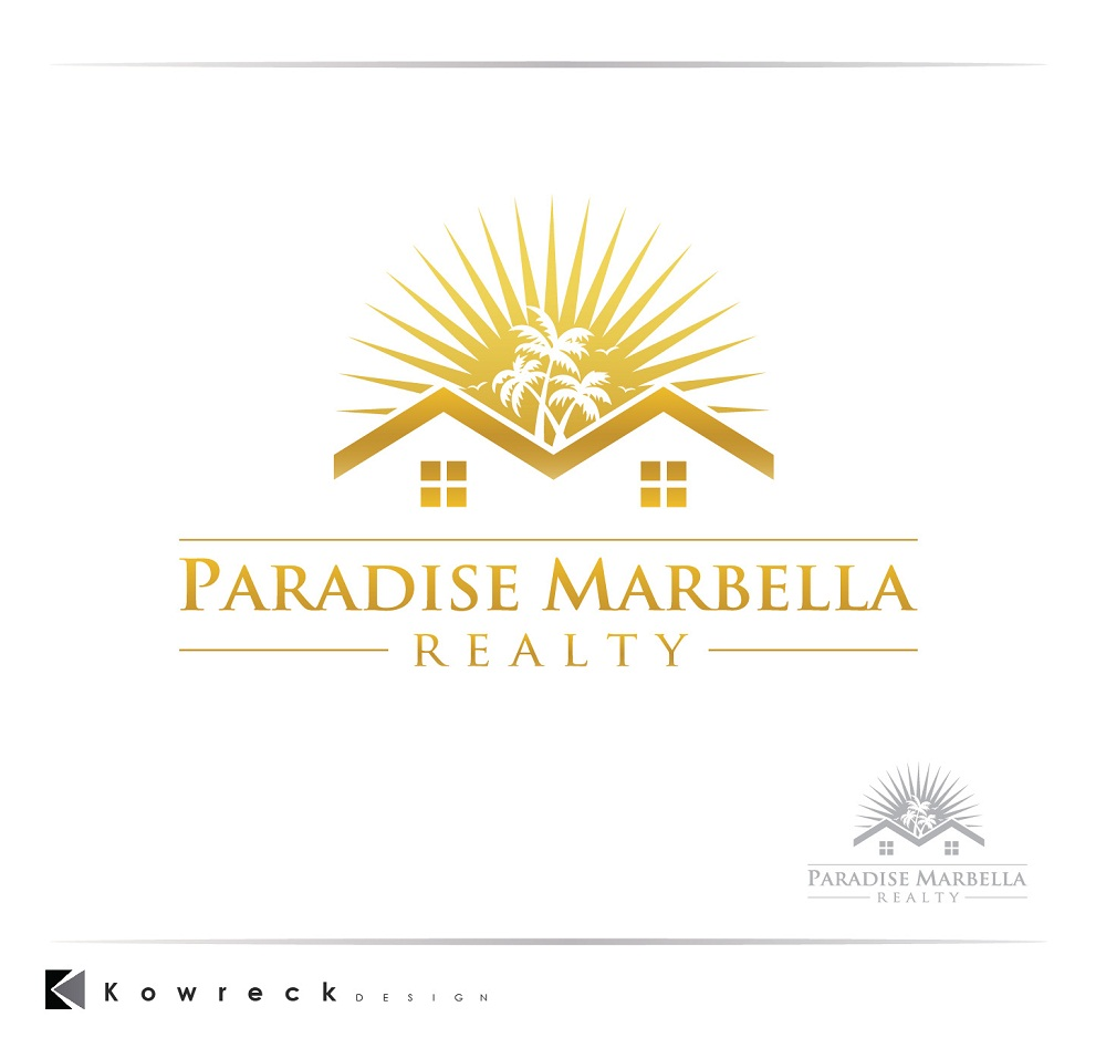 Logo Design by kowreck - Entry No. 105 in the Logo Design Contest Captivating Logo Design for Paradise Marbella Realty.