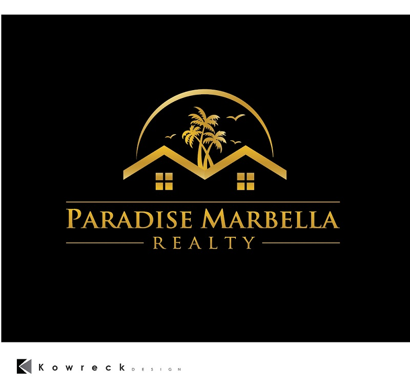 Logo Design by kowreck - Entry No. 106 in the Logo Design Contest Captivating Logo Design for Paradise Marbella Realty.