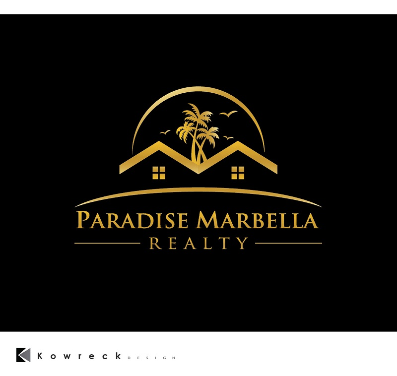 Logo Design by kowreck - Entry No. 107 in the Logo Design Contest Captivating Logo Design for Paradise Marbella Realty.
