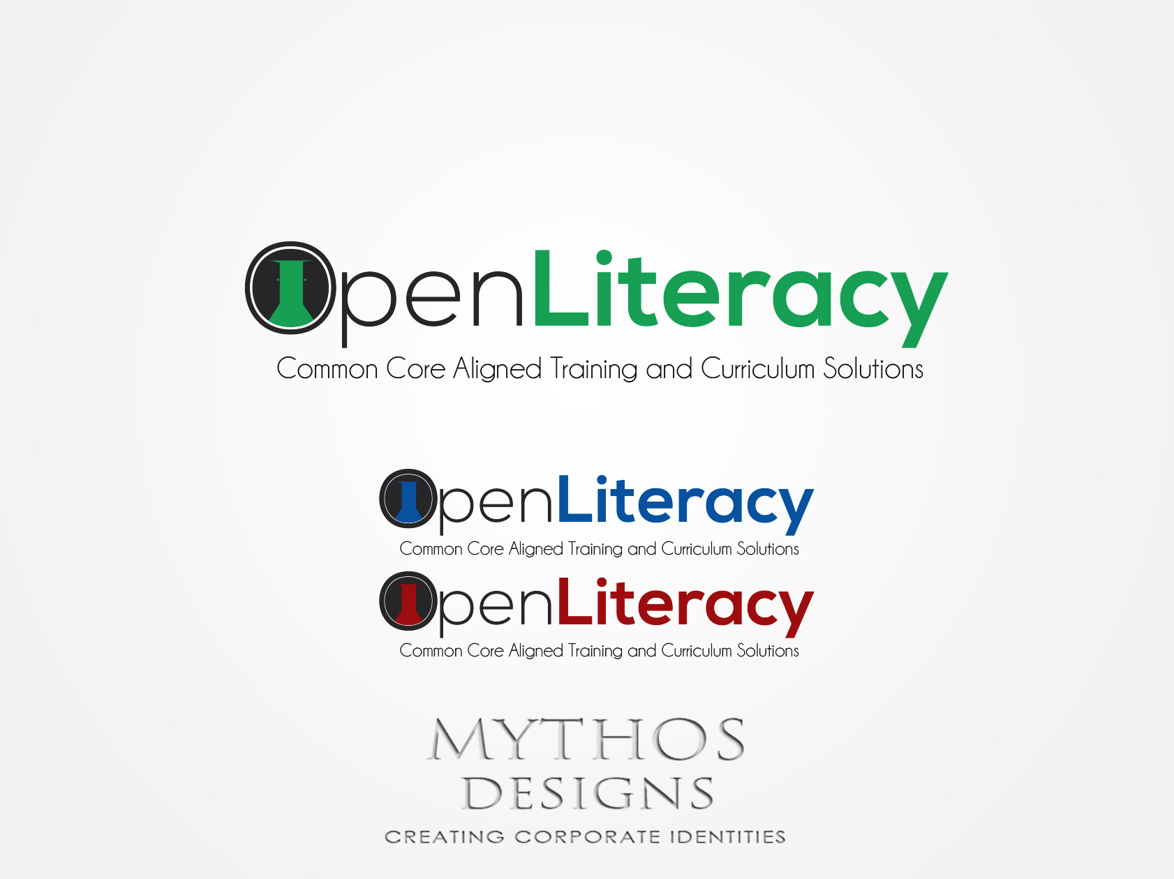 Logo Design by Mythos Designs - Entry No. 107 in the Logo Design Contest Inspiring Logo Design for OpenLiteracy.