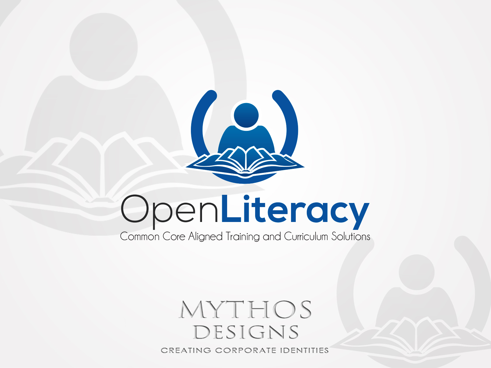Logo Design by Mythos Designs - Entry No. 108 in the Logo Design Contest Inspiring Logo Design for OpenLiteracy.