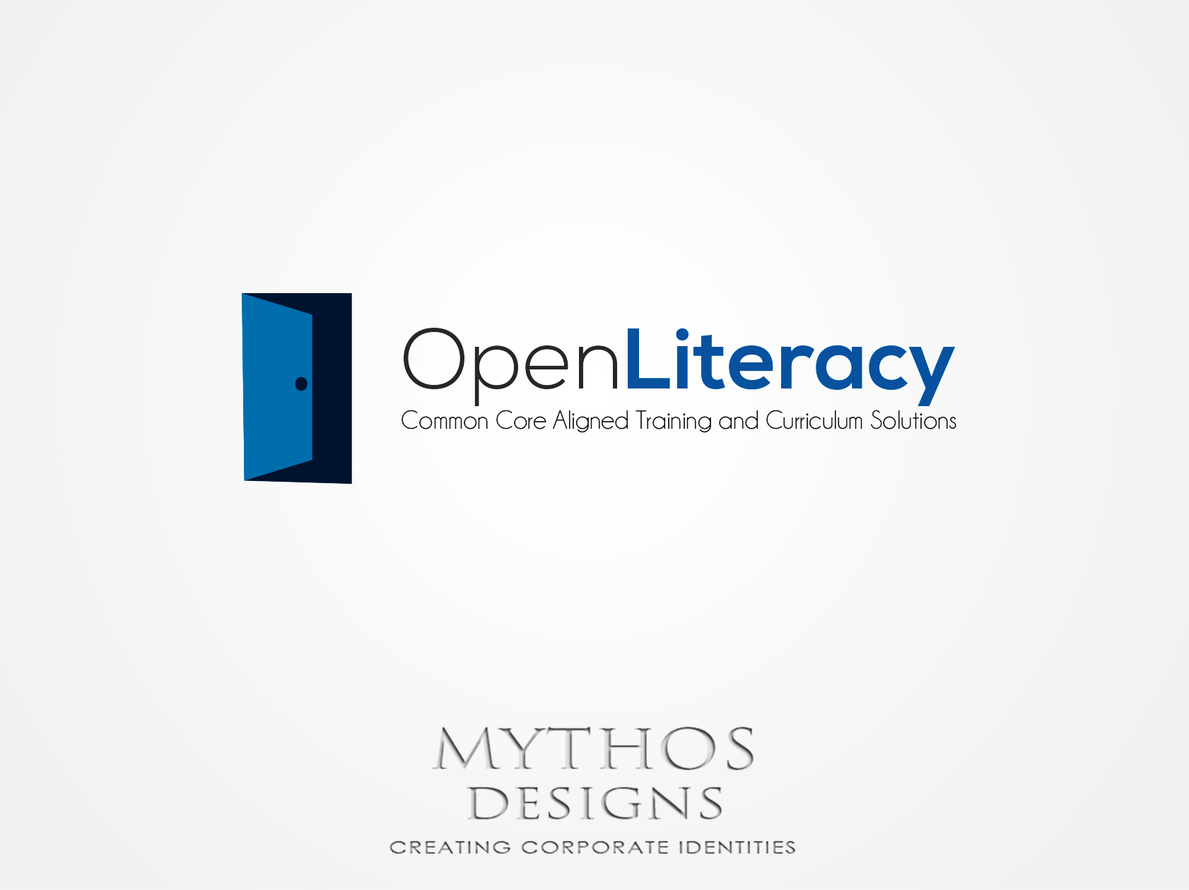 Logo Design by Mythos Designs - Entry No. 109 in the Logo Design Contest Inspiring Logo Design for OpenLiteracy.