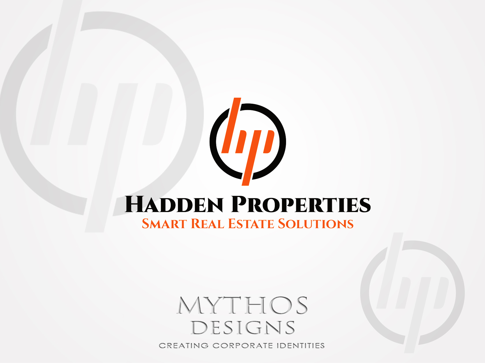 Logo Design by Mythos Designs - Entry No. 98 in the Logo Design Contest Artistic Logo Design for Hadden Properties.