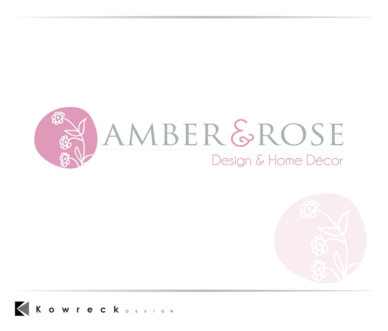 Logo Design by kowreck - Entry No. 16 in the Logo Design Contest Creative Logo Design for Amber & Rose.