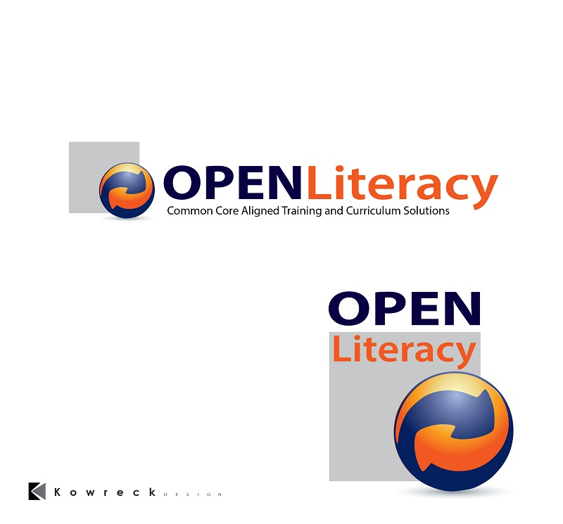 Logo Design by kowreck - Entry No. 110 in the Logo Design Contest Inspiring Logo Design for OpenLiteracy.