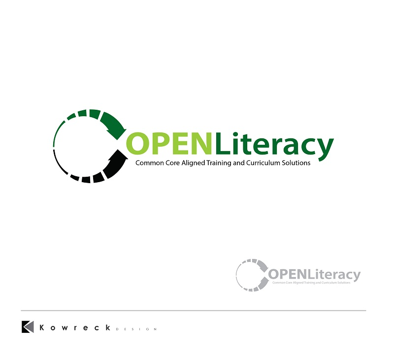 Logo Design by kowreck - Entry No. 111 in the Logo Design Contest Inspiring Logo Design for OpenLiteracy.