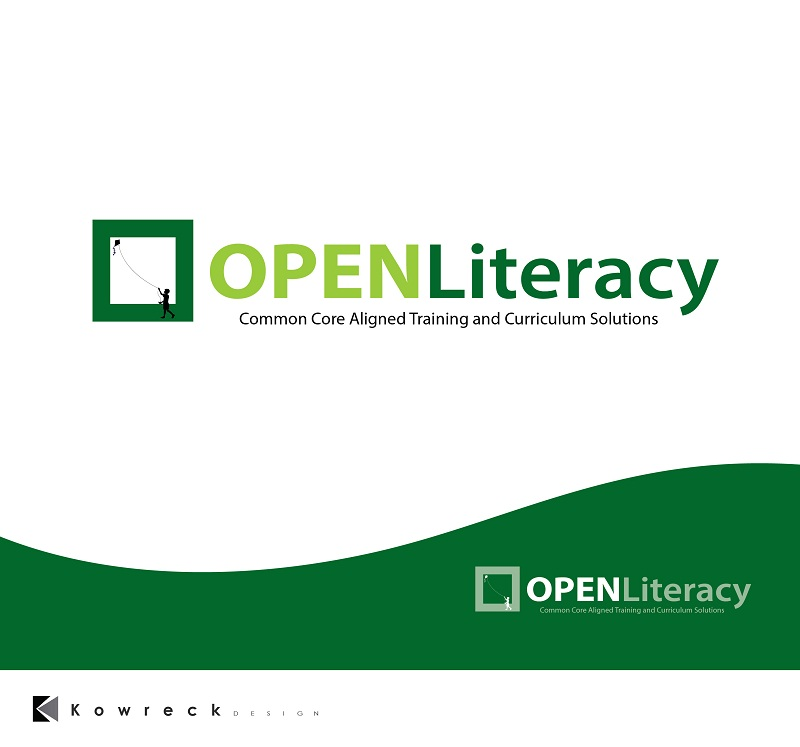 Logo Design by kowreck - Entry No. 112 in the Logo Design Contest Inspiring Logo Design for OpenLiteracy.