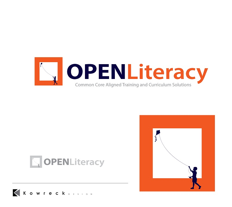 Logo Design by kowreck - Entry No. 113 in the Logo Design Contest Inspiring Logo Design for OpenLiteracy.
