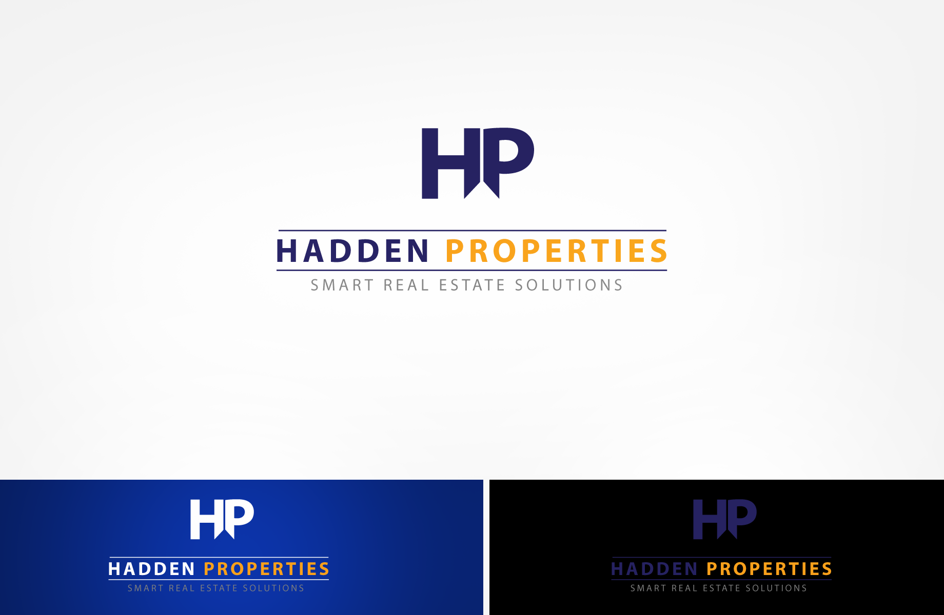 Logo Design by Jan Chua - Entry No. 102 in the Logo Design Contest Artistic Logo Design for Hadden Properties.