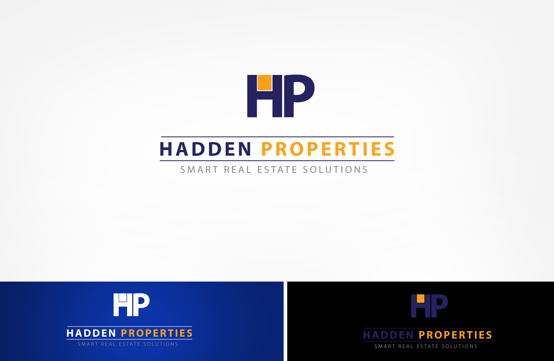 Logo Design by Jan Chua - Entry No. 103 in the Logo Design Contest Artistic Logo Design for Hadden Properties.