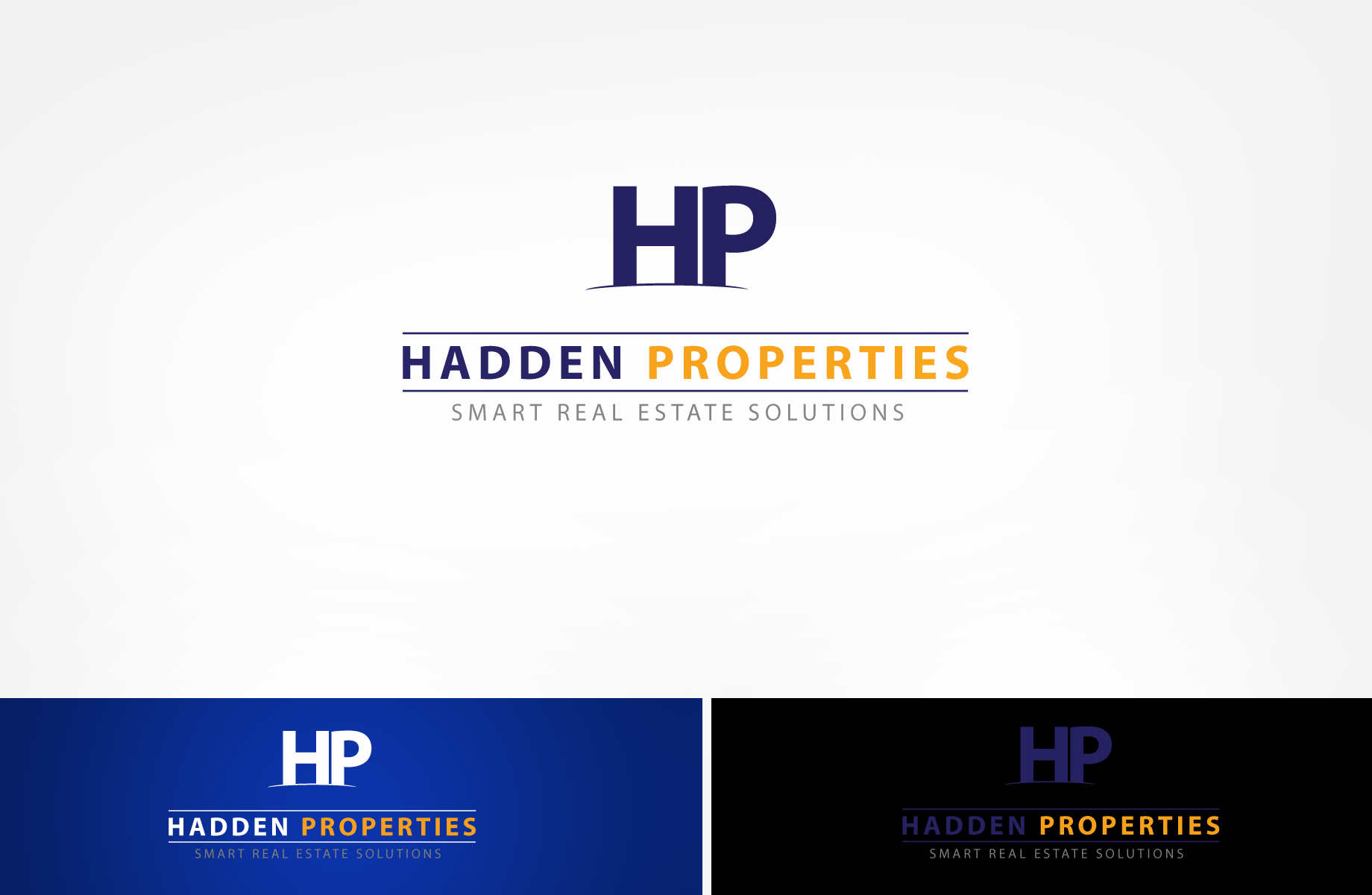 Logo Design by Jan Chua - Entry No. 106 in the Logo Design Contest Artistic Logo Design for Hadden Properties.