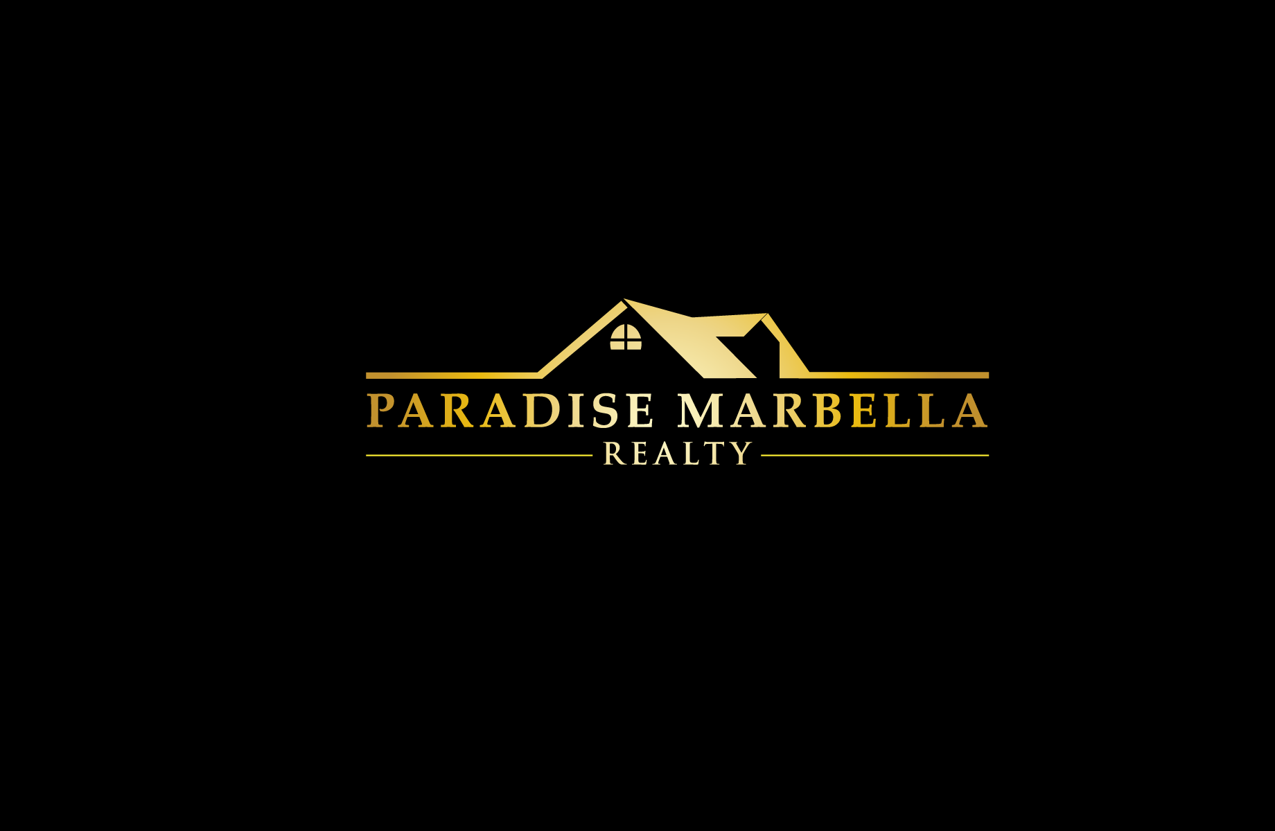 Logo Design by Jan Chua - Entry No. 112 in the Logo Design Contest Captivating Logo Design for Paradise Marbella Realty.