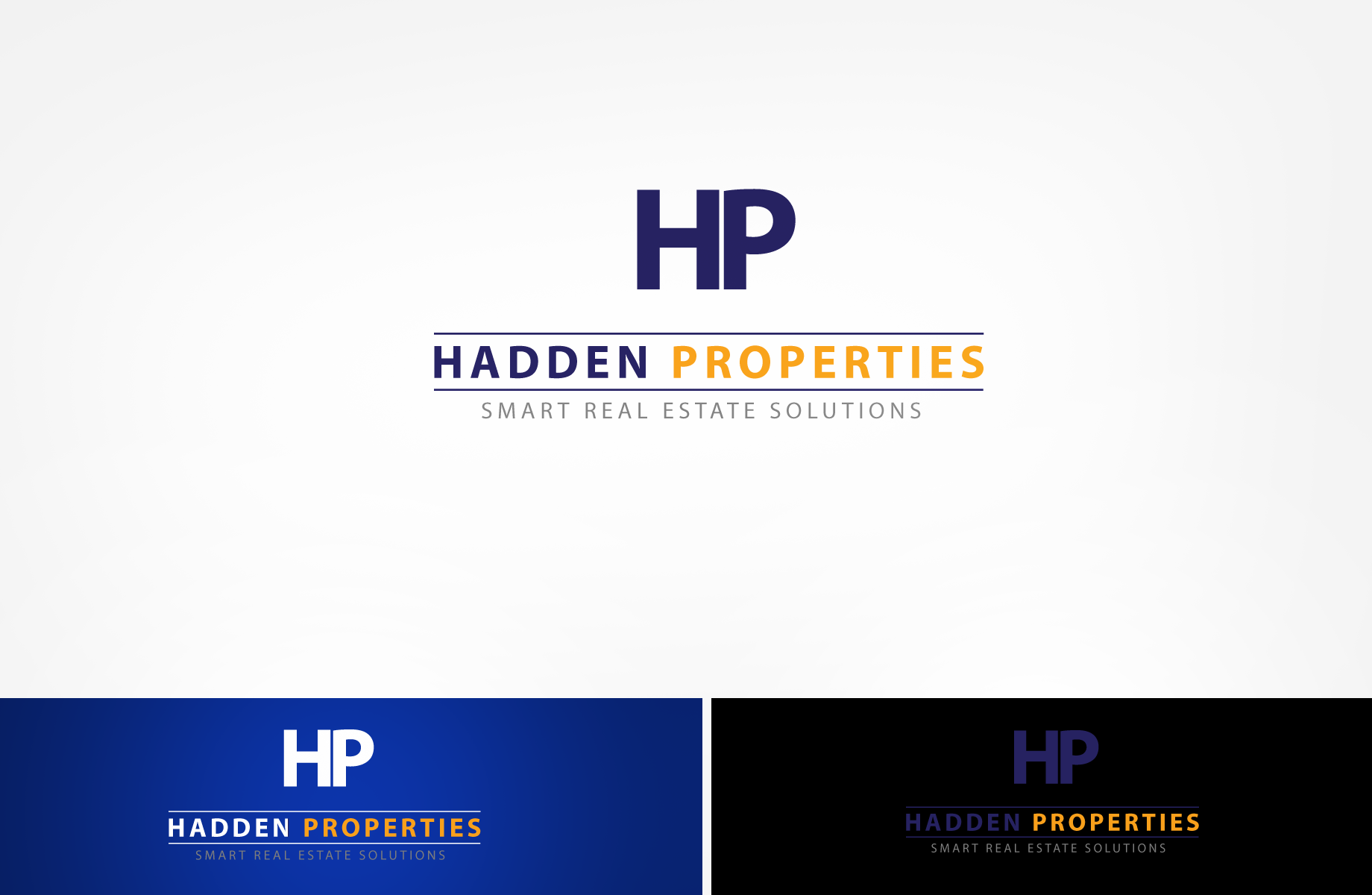 Logo Design by Jan Chua - Entry No. 107 in the Logo Design Contest Artistic Logo Design for Hadden Properties.
