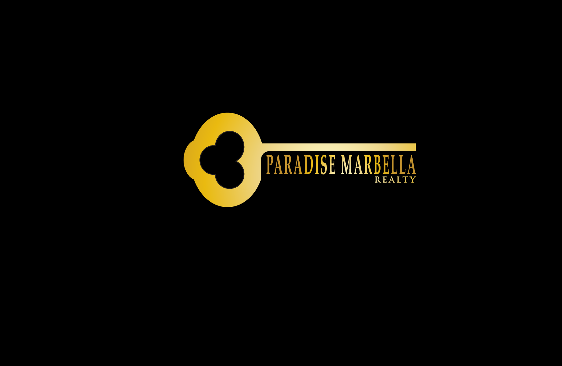 Logo Design by Jan Chua - Entry No. 113 in the Logo Design Contest Captivating Logo Design for Paradise Marbella Realty.