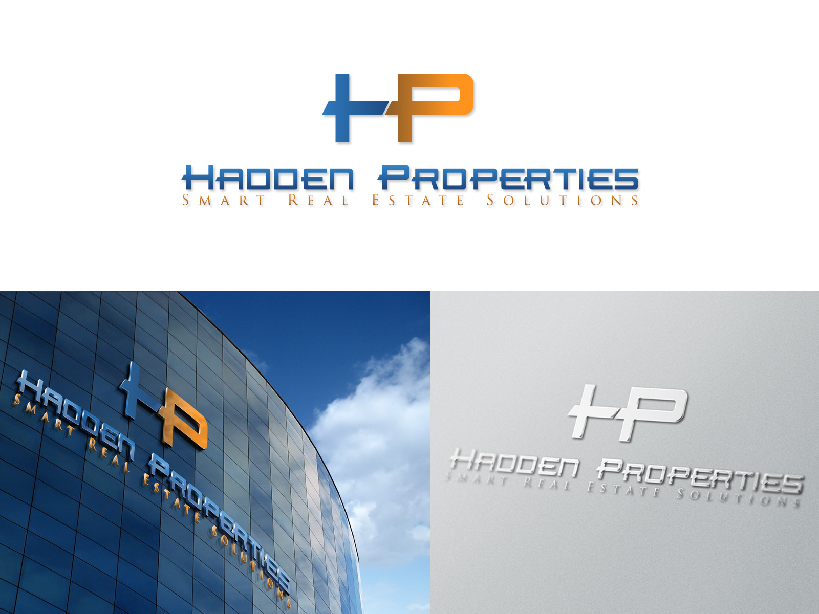 Logo Design by olii - Entry No. 109 in the Logo Design Contest Artistic Logo Design for Hadden Properties.