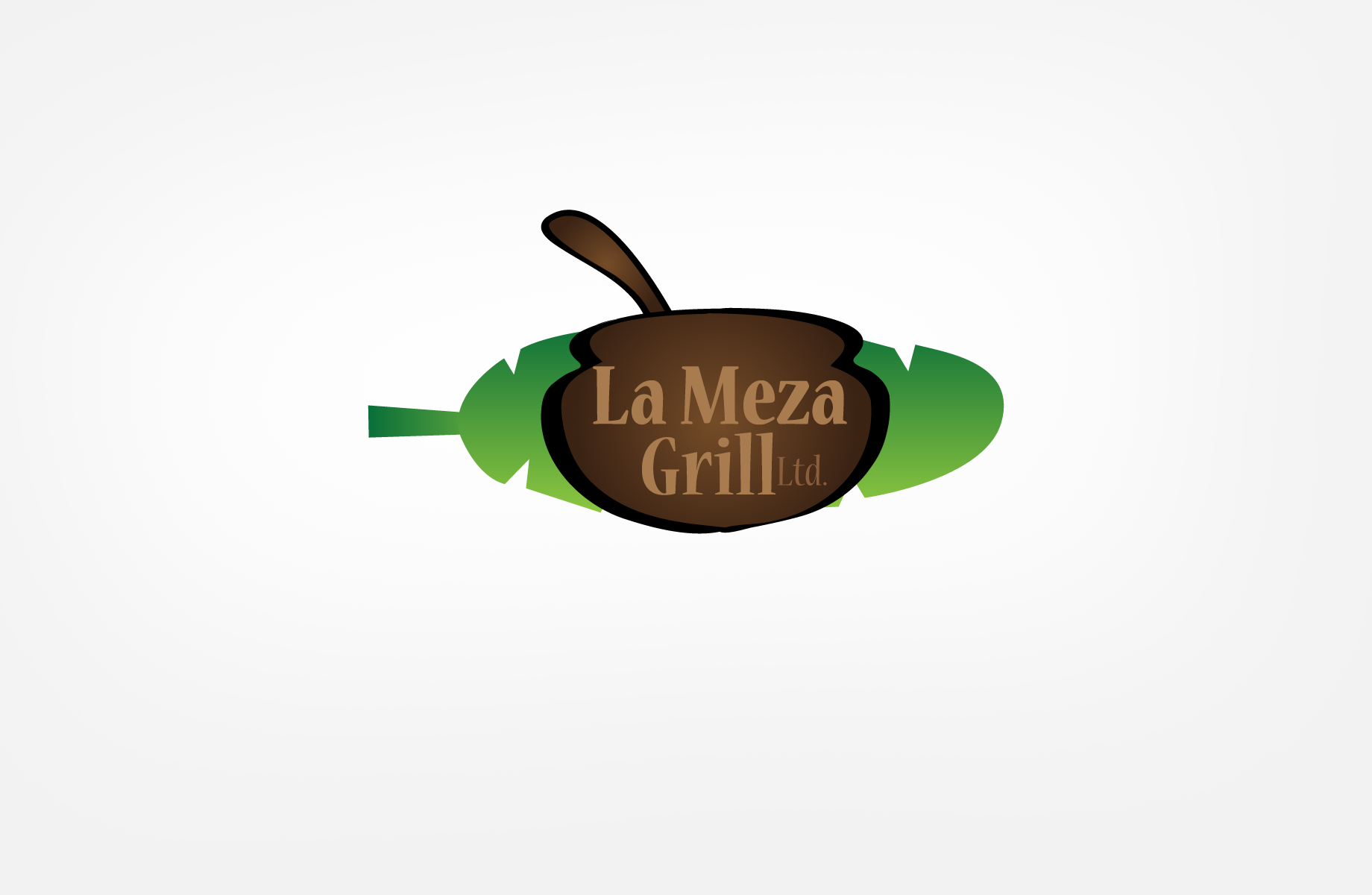 Logo Design by Jan Chua - Entry No. 44 in the Logo Design Contest Inspiring Logo Design for La Meza Grill Ltd..