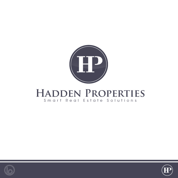 Logo Design by lumerb - Entry No. 110 in the Logo Design Contest Artistic Logo Design for Hadden Properties.