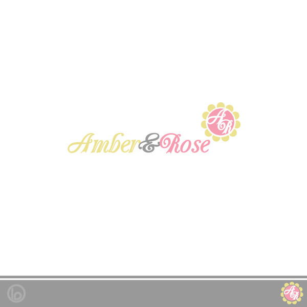 Logo Design by lumerb - Entry No. 17 in the Logo Design Contest Creative Logo Design for Amber & Rose.