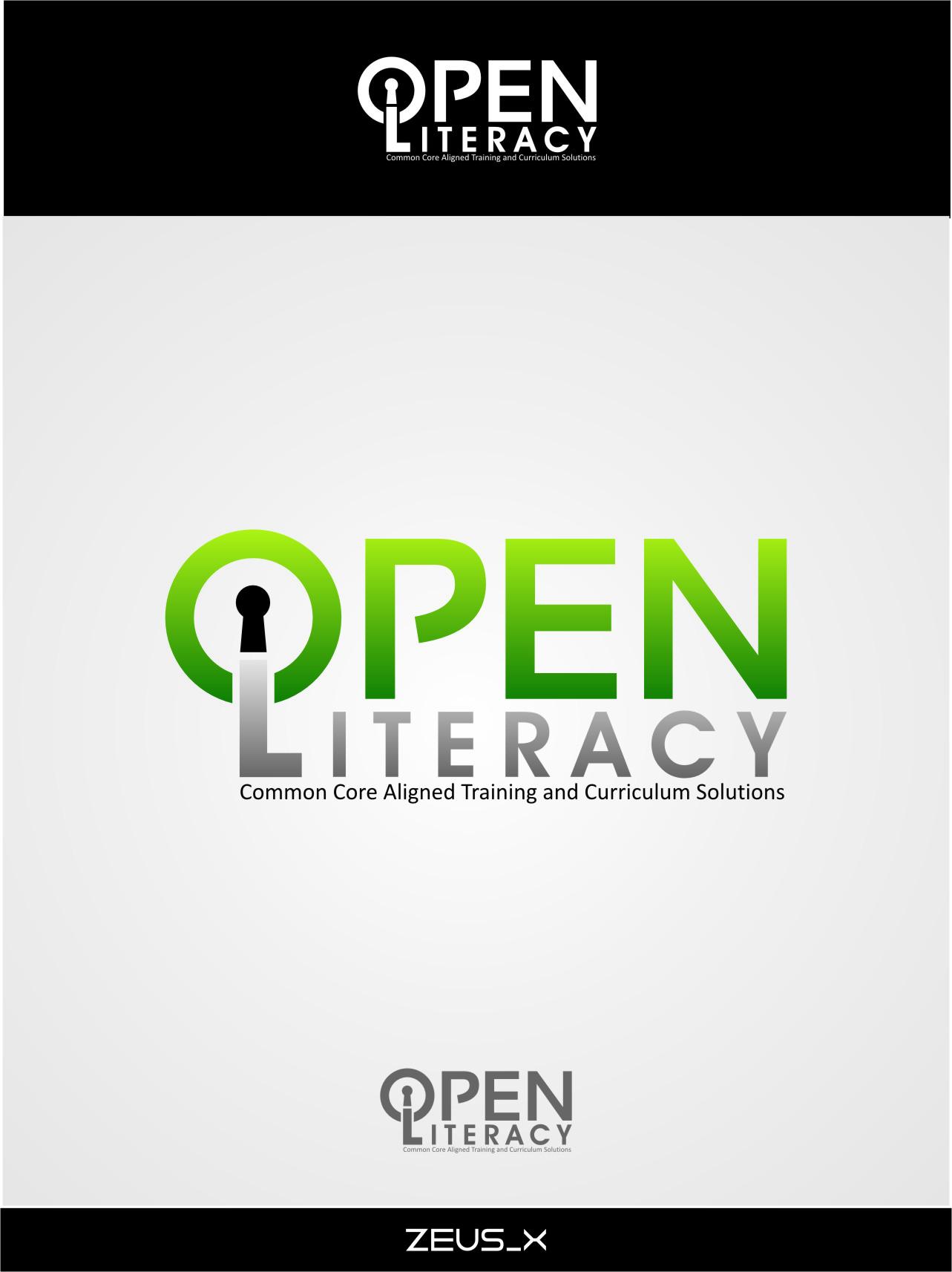 Logo Design by Ngepet_art - Entry No. 120 in the Logo Design Contest Inspiring Logo Design for OpenLiteracy.