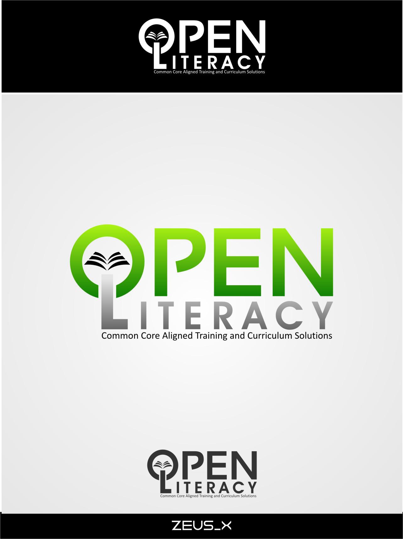Logo Design by Ngepet_art - Entry No. 124 in the Logo Design Contest Inspiring Logo Design for OpenLiteracy.