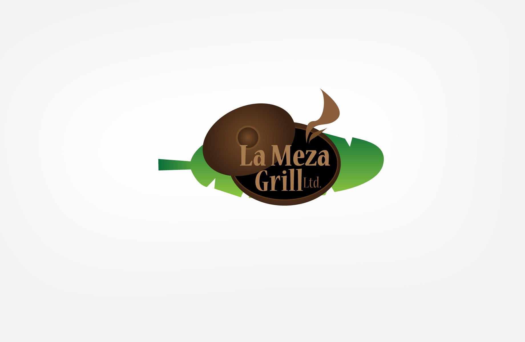 Logo Design by Jan Chua - Entry No. 48 in the Logo Design Contest Inspiring Logo Design for La Meza Grill Ltd..